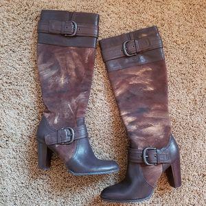 Born Crown Kimber Women's Heeled Boots Sz 8.5